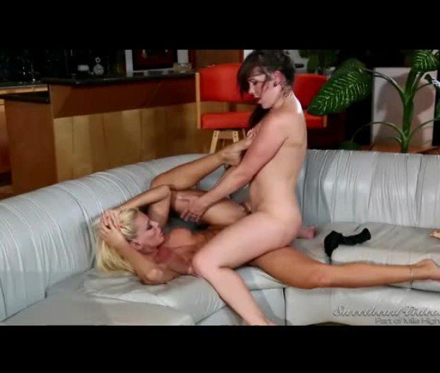 Blonde And Brunette Milfs Have Sweaty Hardcore Lesbian Sex