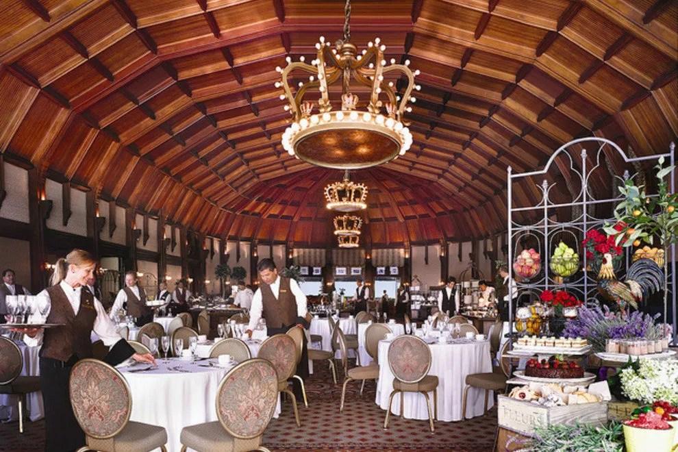 Crown Room At Hotel Del Coronado San Diego Restaurants