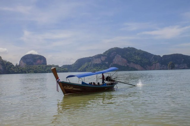 Sometimes it's not about the destination, but about the long-tail boat ride to get there