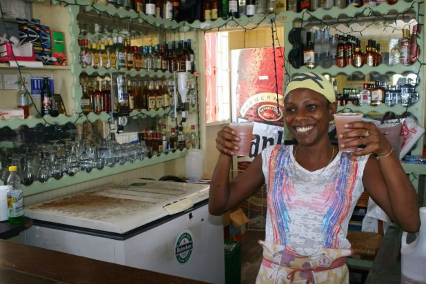 Smiles and authentic rum punches in Barbados