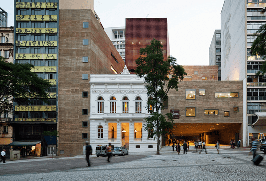 Praça das Artes / Brasil Arquitetura. Image © Nelson Kon