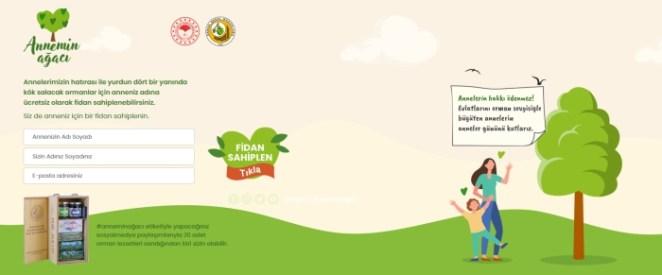 Anneler Günü'ne özel Annemin Ağacı fidan bağışı nasıl yapılır? Annemin Ağacı kampanyası nedir? 14