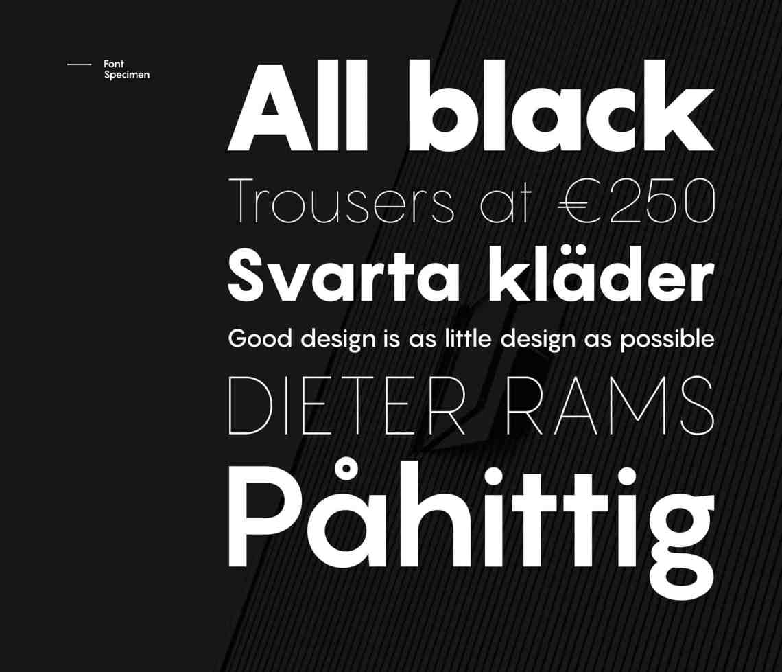 Download Pangram font free download • AllBestFonts.com