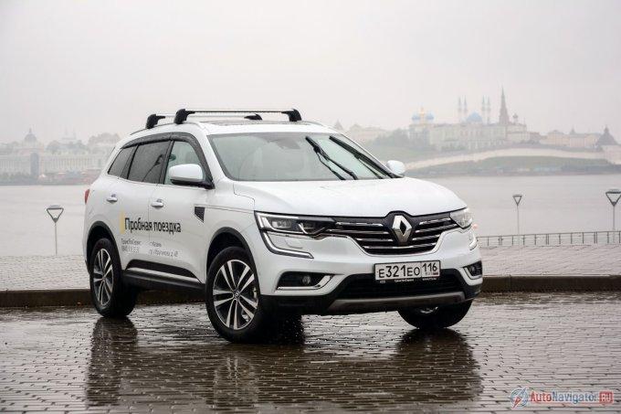 Дизайн нового Renault Koleos выдержан в стиле флагманского Talisman, не предлагаемого в РФ