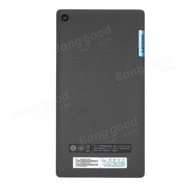 banggood Lenovo TAB3 7(LTE) MTK8735P 1.0GHz 4コア BLACK(ブラック)