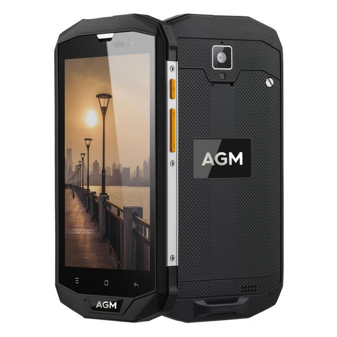 banggood AGM A8 Snapdragon 410 MSM8916 1.2GHz 4コア BLACK(ブラック)