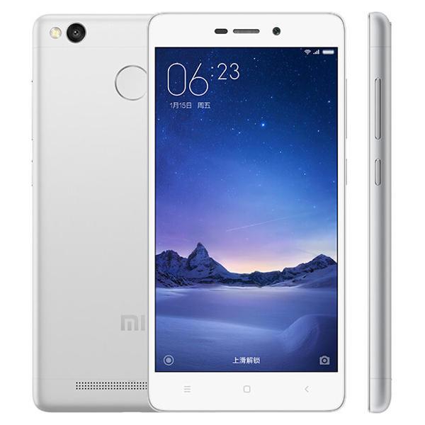banggood Xiaomi Redmi 3S Snapdragon 430 MSM8937 1.4GHz 8コア SILVER(シルバー)