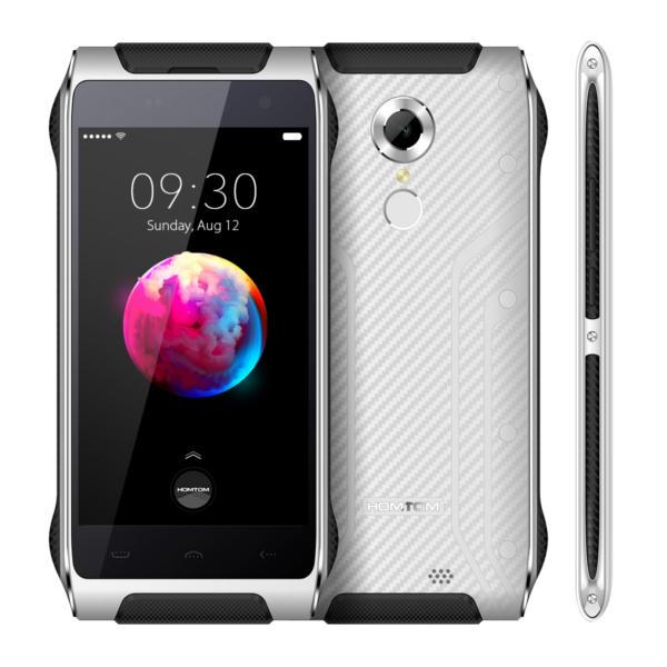 banggood HOMTOM HT20 Pro MTK6753 1.3GHz 8コア WHITE(ホワイト)