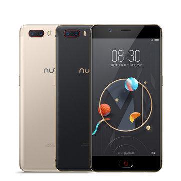 Nubia M2 5.5 inch Dual Rear Camera 4GB RAM 128GB ROM Qualcomm Snapdragon 625 Octa Core 4G Smartphone