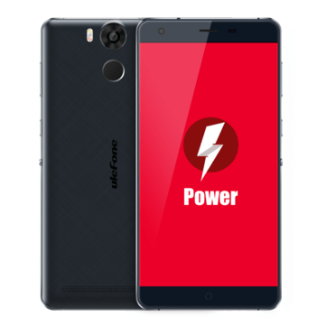 banggood Ulefone Power MTK6753 1.3GHz 8コア BLACK(ブラック)