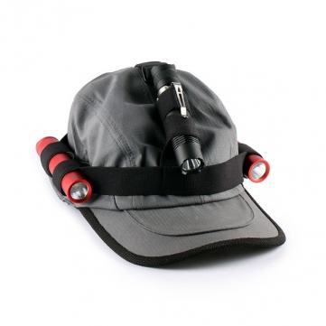 Convoy Flashlight Headband Headlight Band For 18650 Flashlight Black