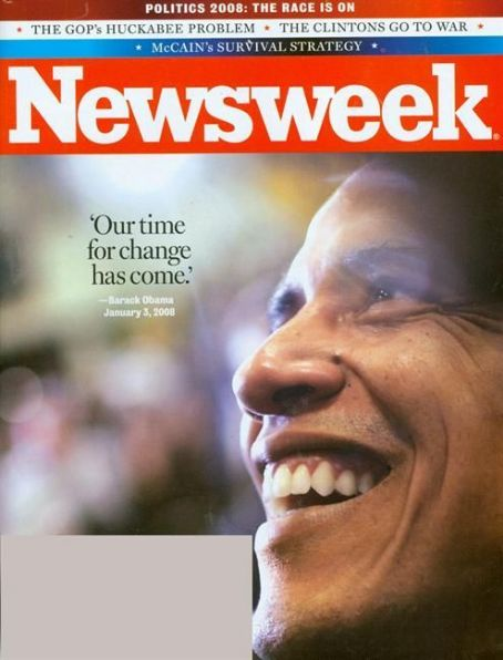Barack Obama - Newsweek Magazine [United States] (14 January 2008)