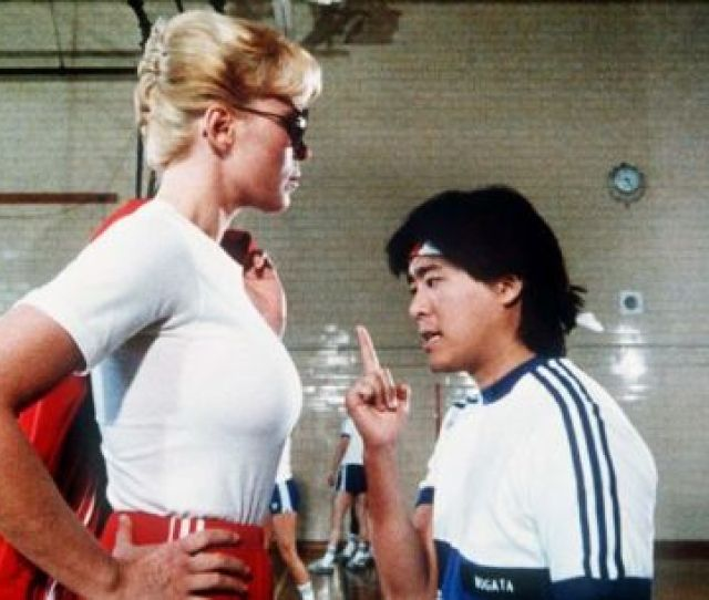 Leslie Easterbrook Police Academy 3 Back In Training 1986