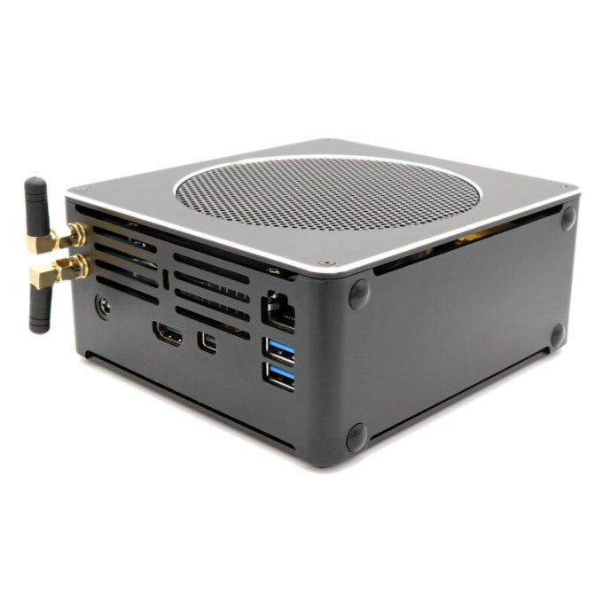 HYSTOU S200 Mini PC i5 8300H 16GB+256GB/16GB+512GB Quad Wi UHD Graphics 630 4.0GHz Fanless