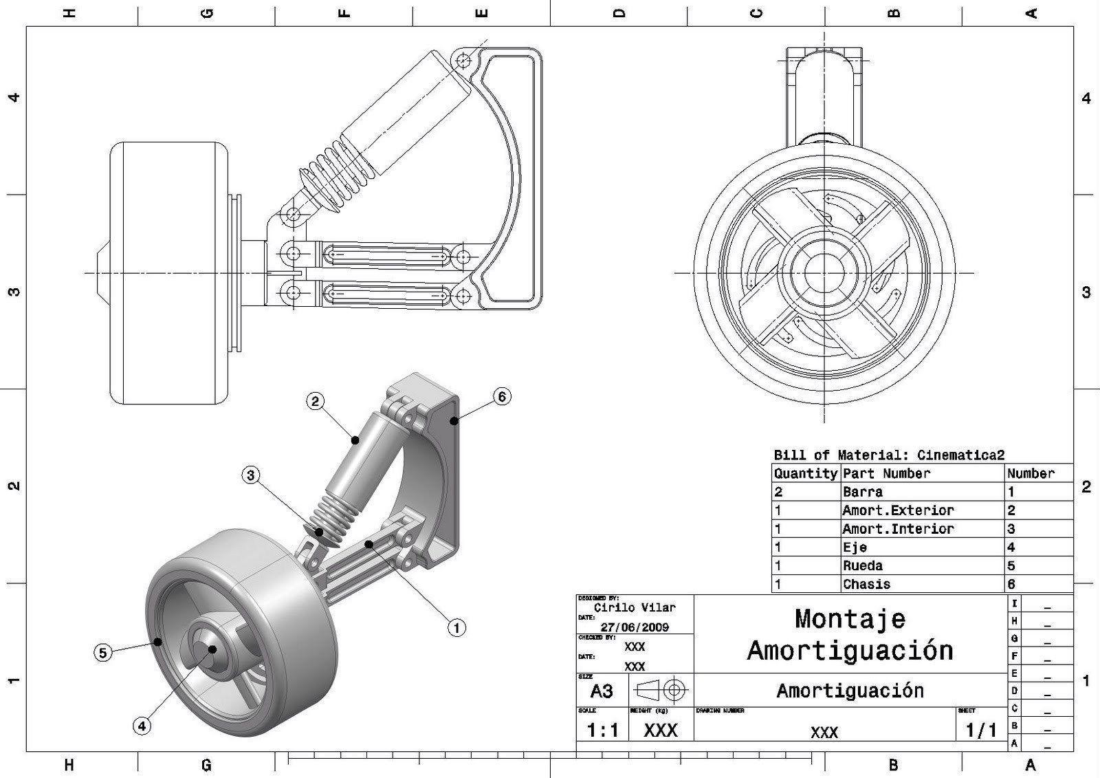 3d Print Model Car Suspension