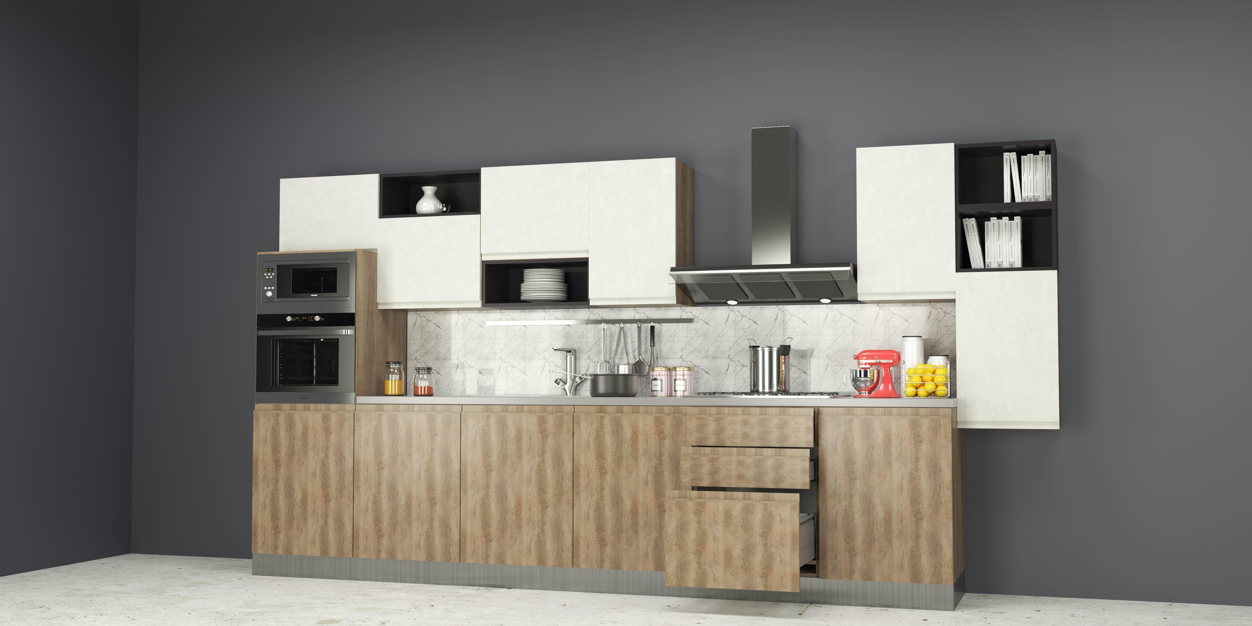 cuisine moderne 3d model