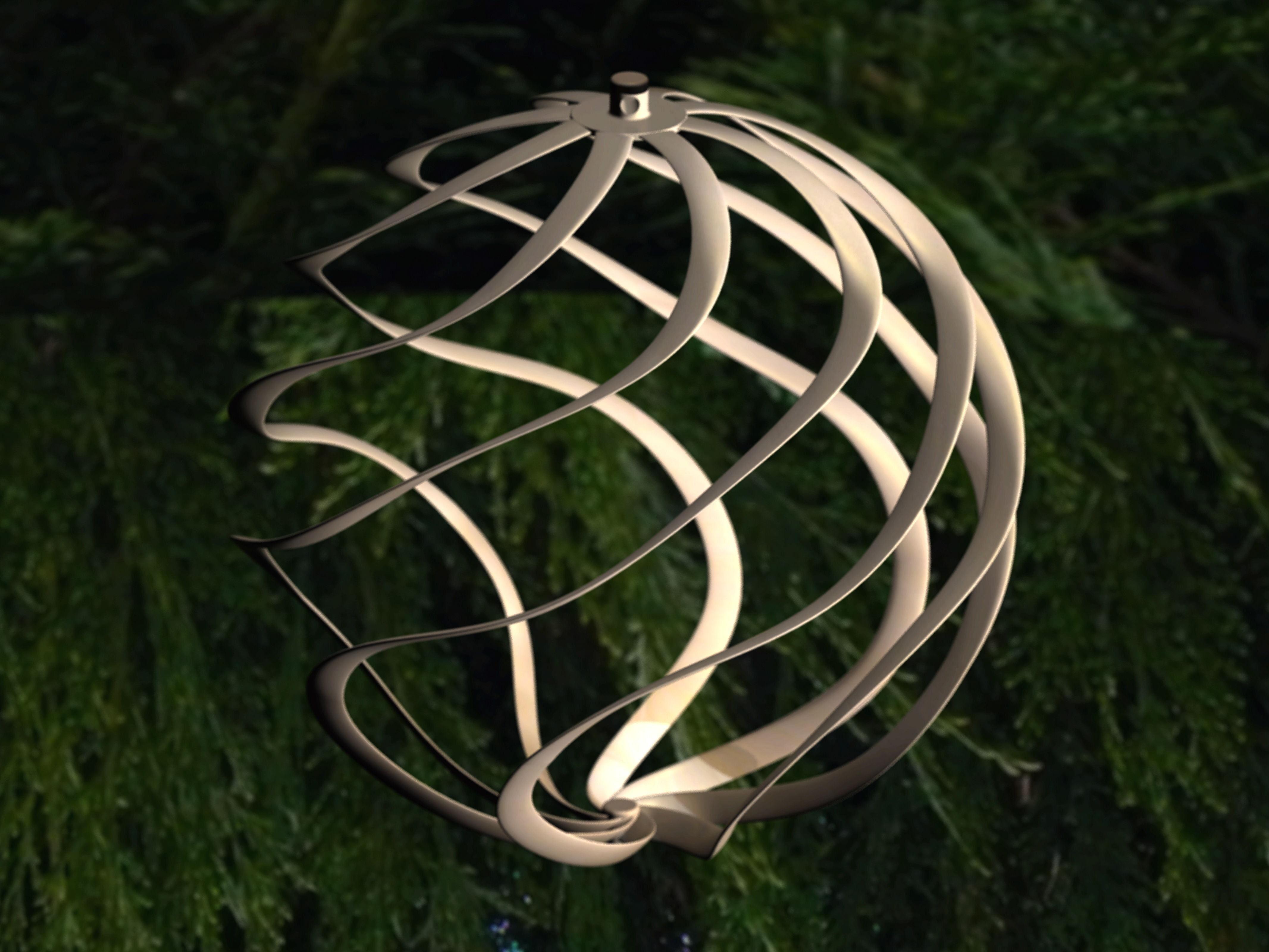 Ornament For Christmas Tree 3d Model 3d Printable Stl