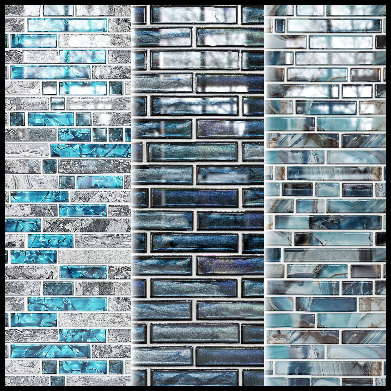 glass mosaic tile texture
