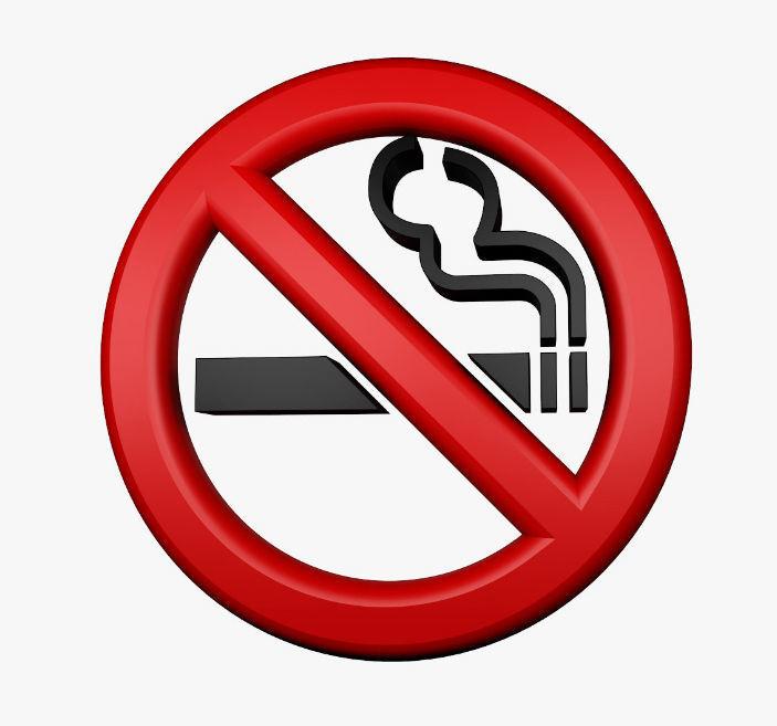 No Smoking Logo 3d Model Cgtrader