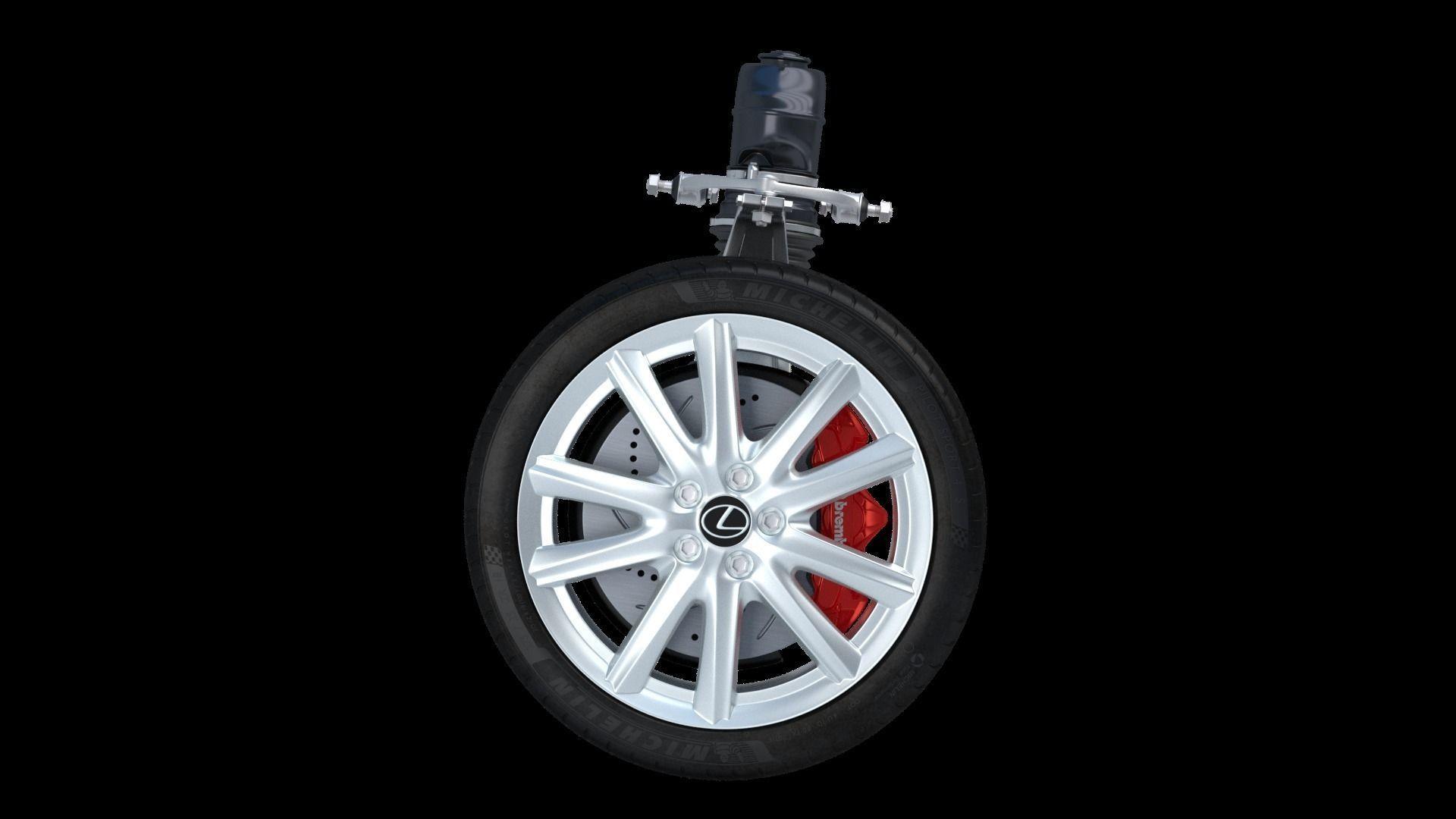 Car Wheel Lexus other 3D