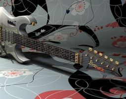 Guitar 3d Models Download 3d Guitar Files