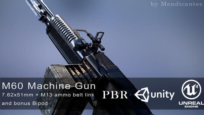 M60 Machine Gun Ammo | Unixpaint