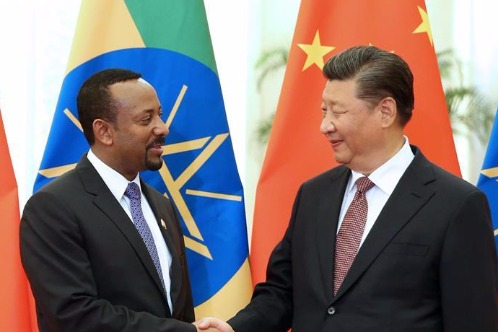 Xi meets Ethiopian prime minister - Chinadaily.com.cn
