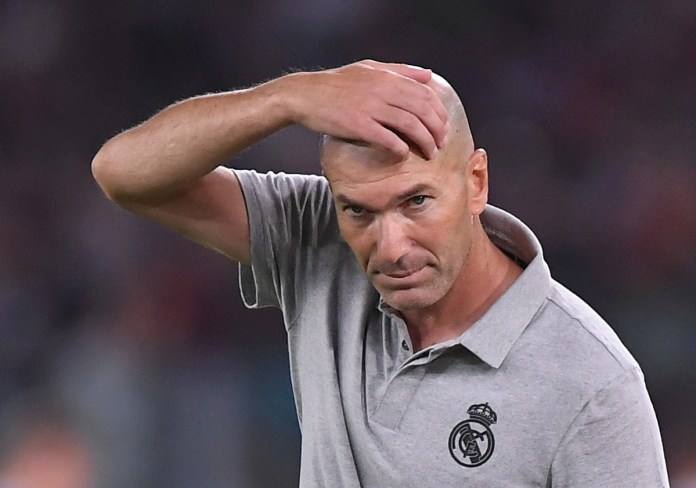 Zidane determined to make good in second stint at Real's helm 2