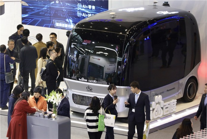 Baidu granted road test licenses for self-driving cars with passengers 2