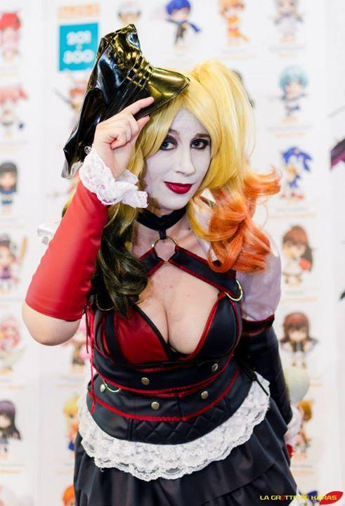 Harley Quinn Xellie Cosplay Japan Expo 2015