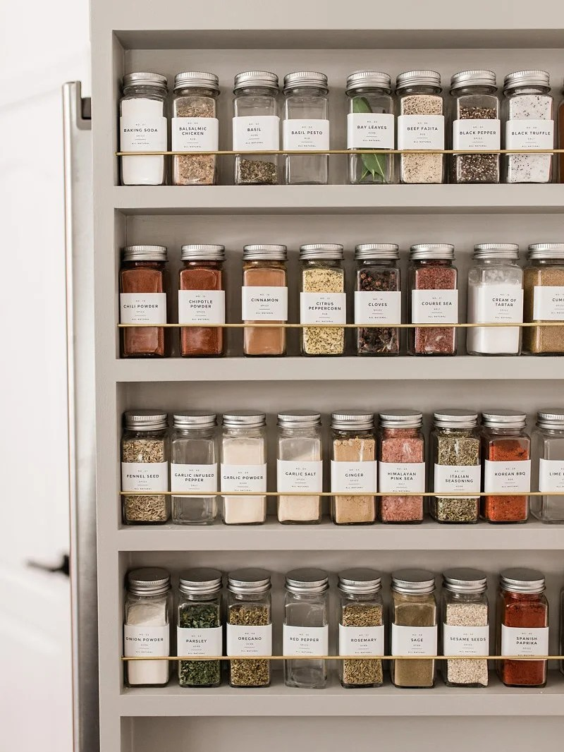 5 spice rack ideas for your most