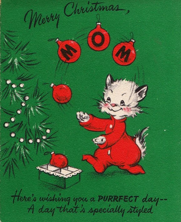 Holiday Greeting Cards Through The Decades Etsy Journal