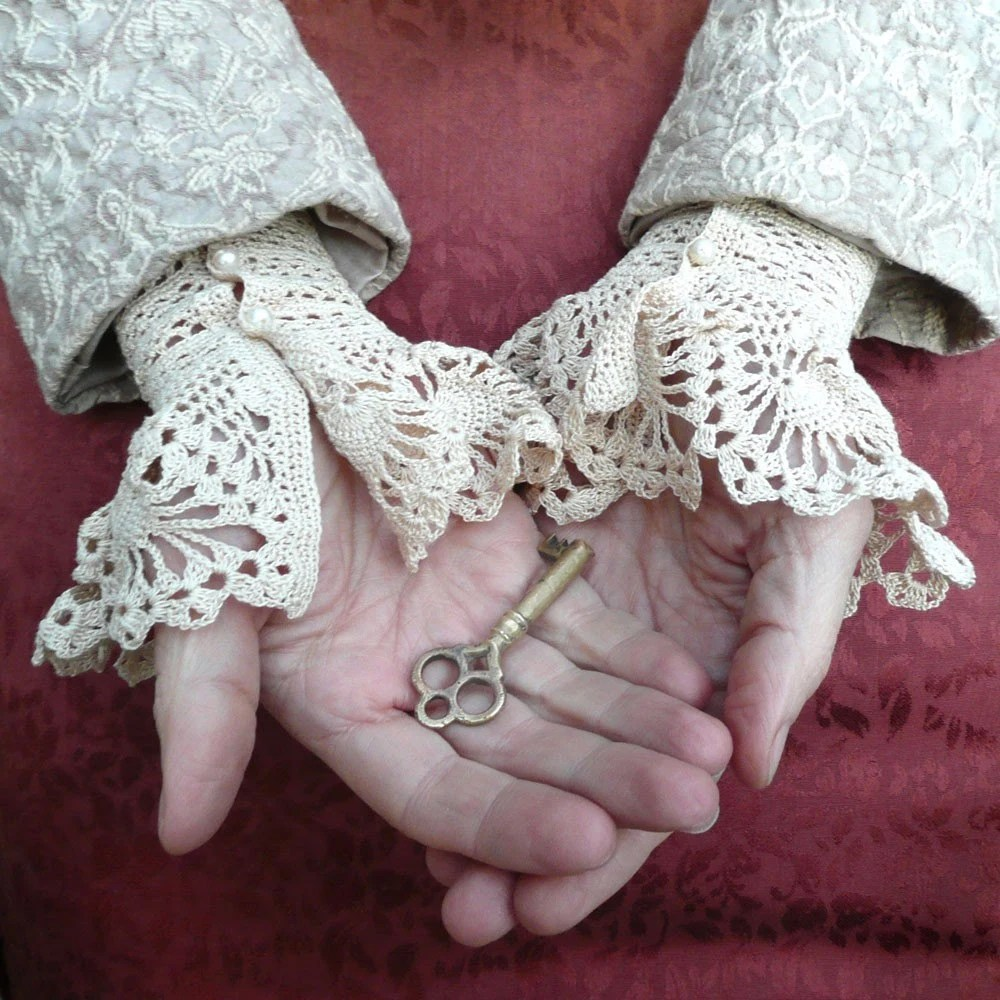 Victorian inspired cuffs by Marha Villa
