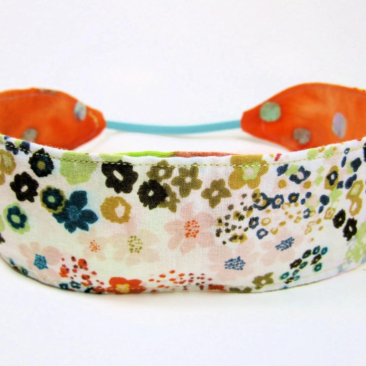 Children's Reversible Fabric Headband - flyingfrogapparel