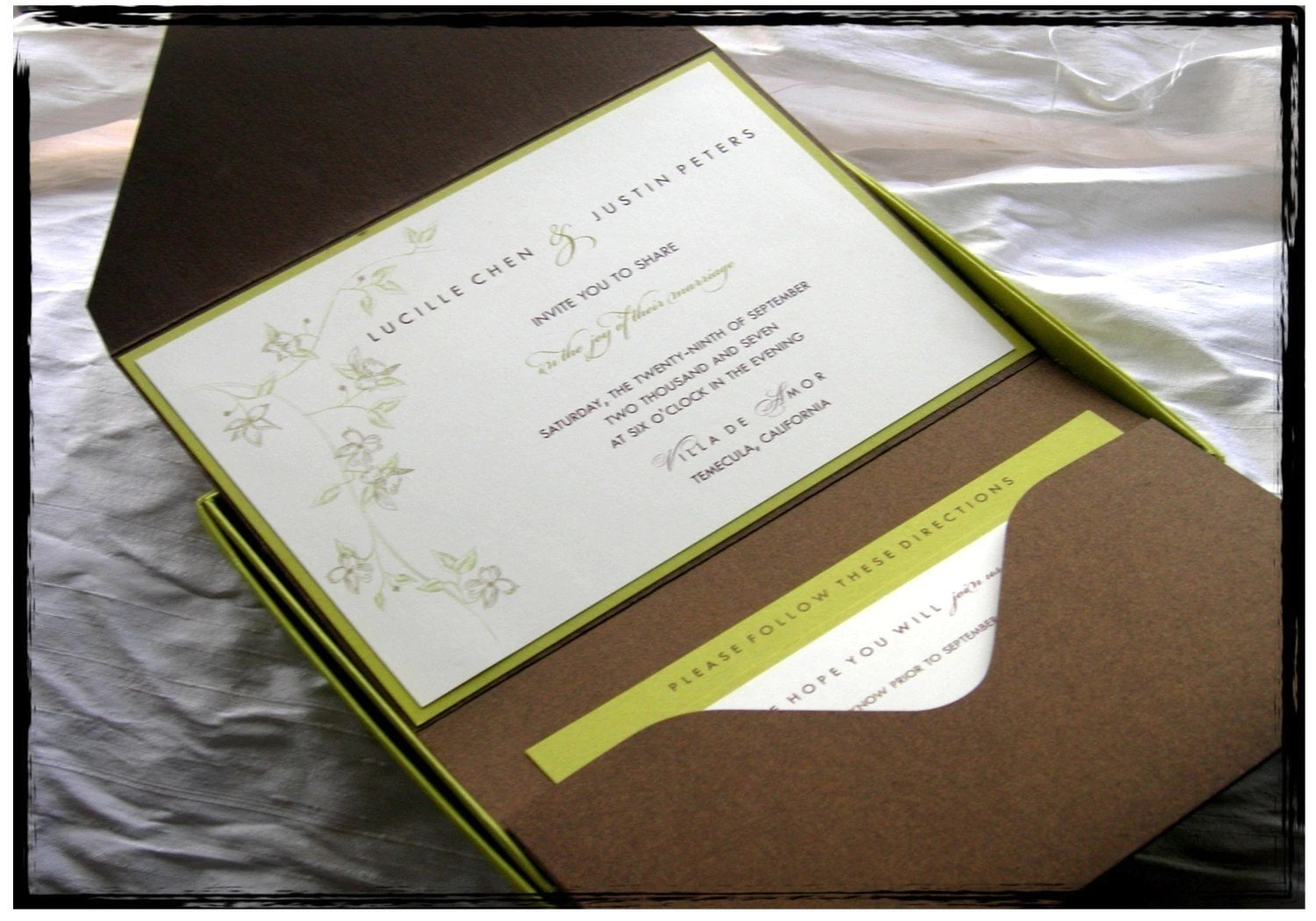 pocket wedding invitations pocket wedding invitations smile you re at the best 6699