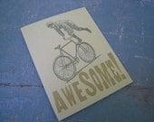 Awesome Bike Card - justajar