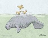 Manatee Island - designosaurus