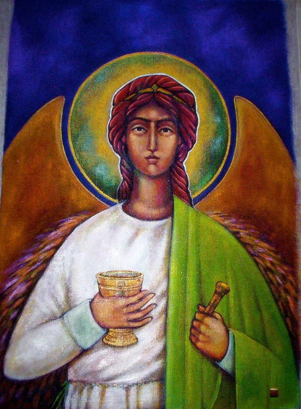 Icon Archangel Raphael
