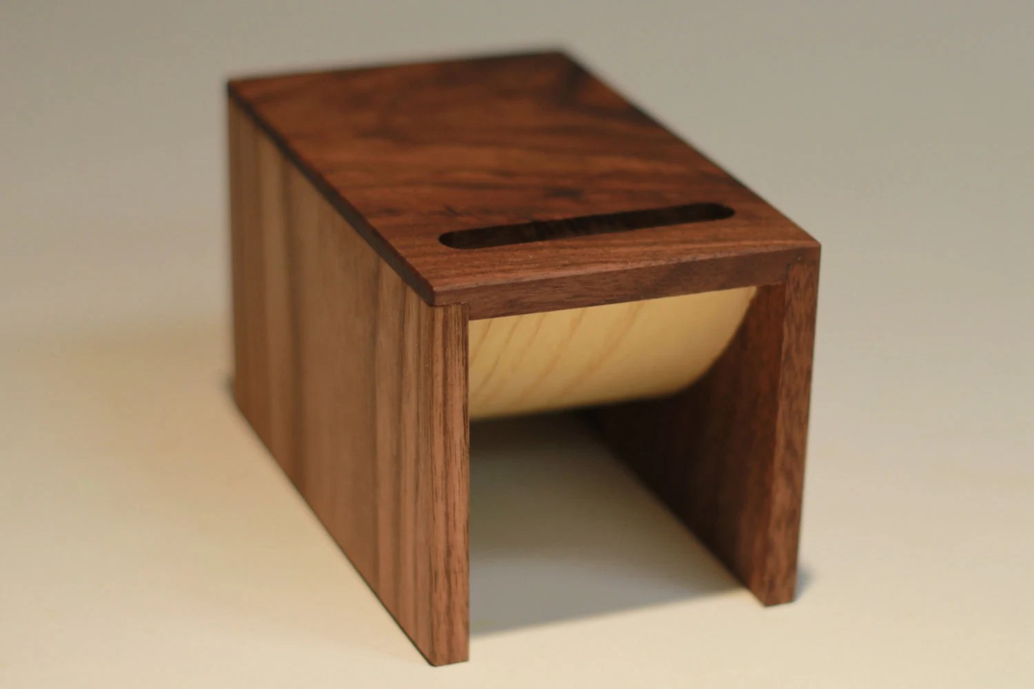 the BOOST      unplugged     wood iPhone or iPod amplifier