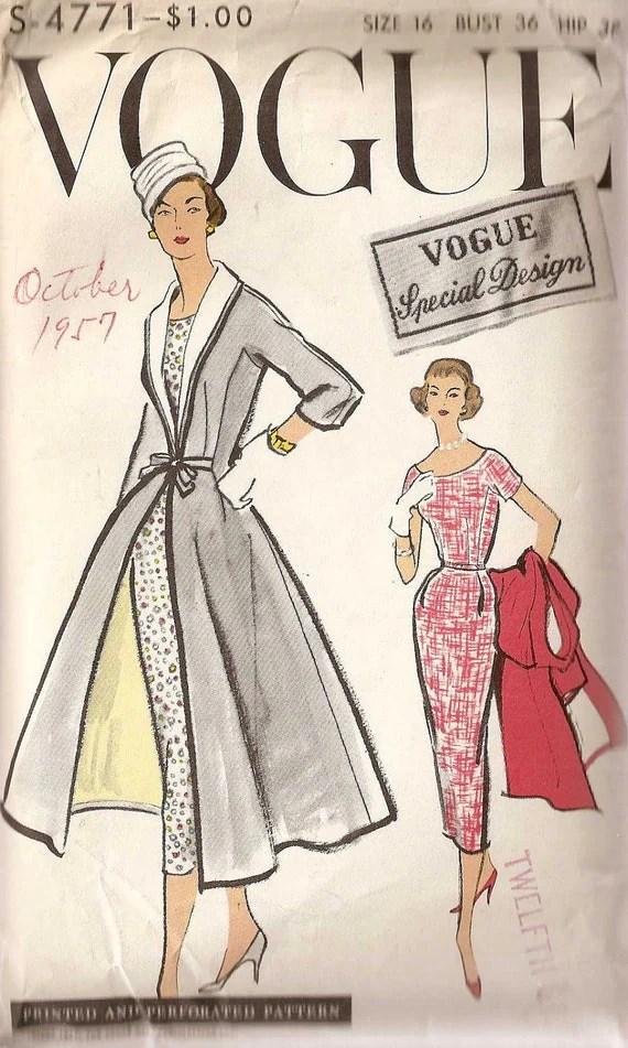 Vogue S-4771 (1957)