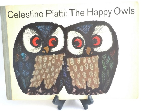 Vintage Mid-Century Children's Book The Happy Owls by Celestino Piatti - AtomicAlley