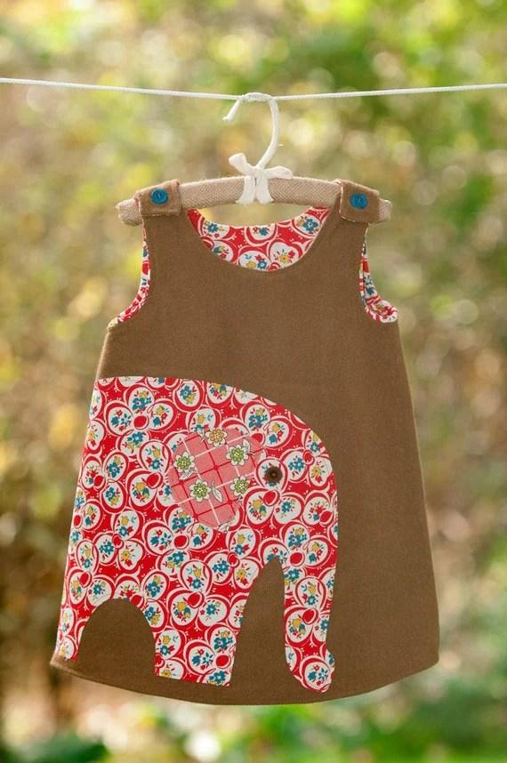 The Big Elephant Dress - Toddler/Girl