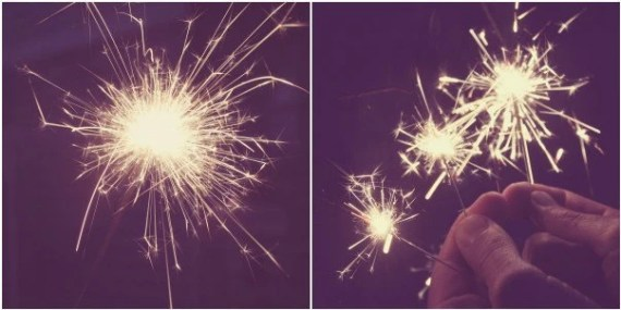 Sparks Fly - Gold Sparklers At Night Whimsical Celebration Sparkler Photography Discount Set of Two 5x7 Prints - JessaMaePhoto