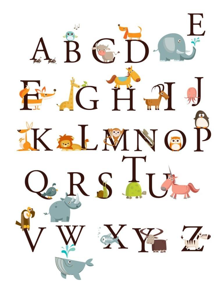алфавит детский