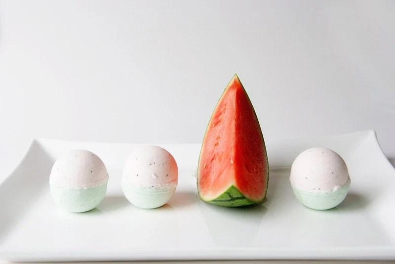 Watermelon Bath Bomb - theblacksheepsoapco