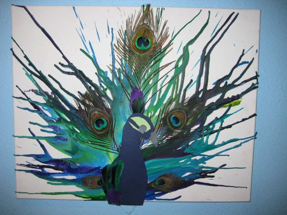 Five Things Friday: Crayon Art Ideas (5/5)
