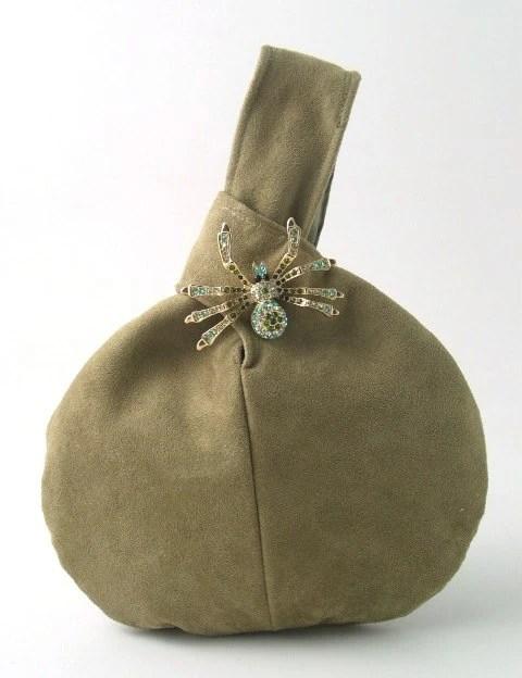 vegan wristlet bag, ultra suede purse, handbag, clutch, evening bag, cocktail bag, light olive