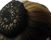 Tatted Hair Bun Cover Head Covering