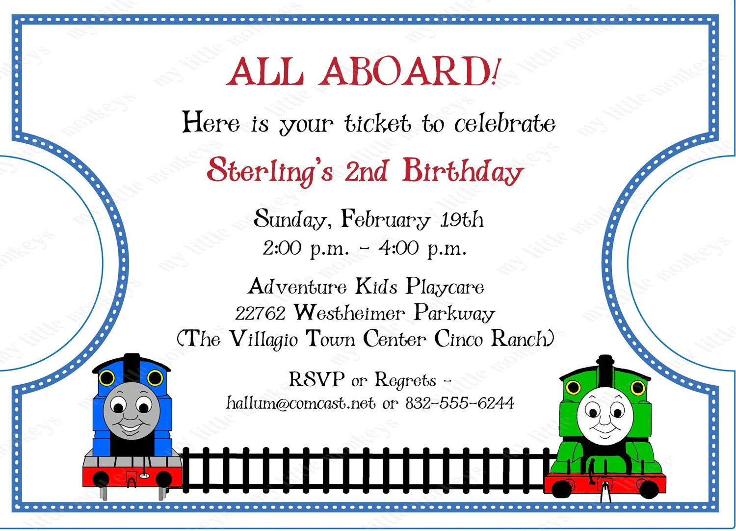 Girl Train Ticket Printable Invitation Dimple Prints Shop
