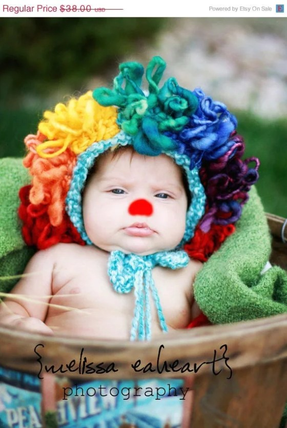 Clown baby Hat- garysangel